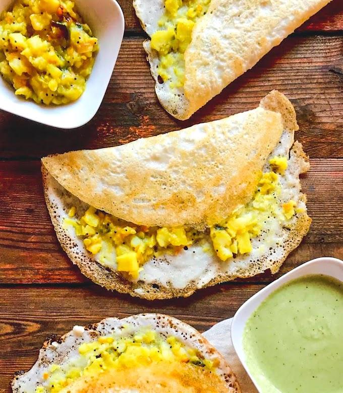 Masala Dosa Recipe | Breakfast Care
