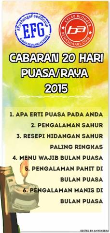 #Cabaran20Hari Puasa/Raya 2015