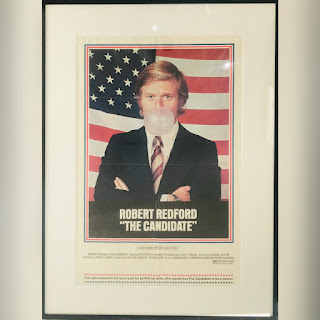 Robert Redford in 'The Candidate' Movie Poster