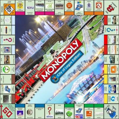 monopoly lagos juego mesa board game nigeria