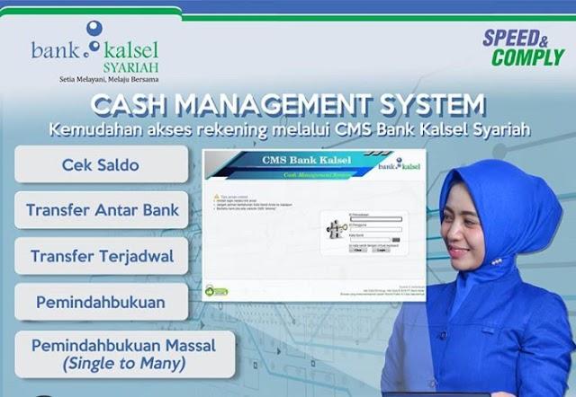 Mudahkan Transaksi, Bank Kalsel Syariah Luncurkan CMS iB
