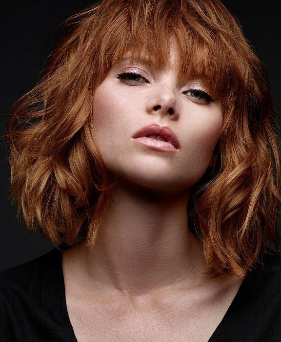 Beautiful-charming curly haircuts fall winter 2018-2019 3