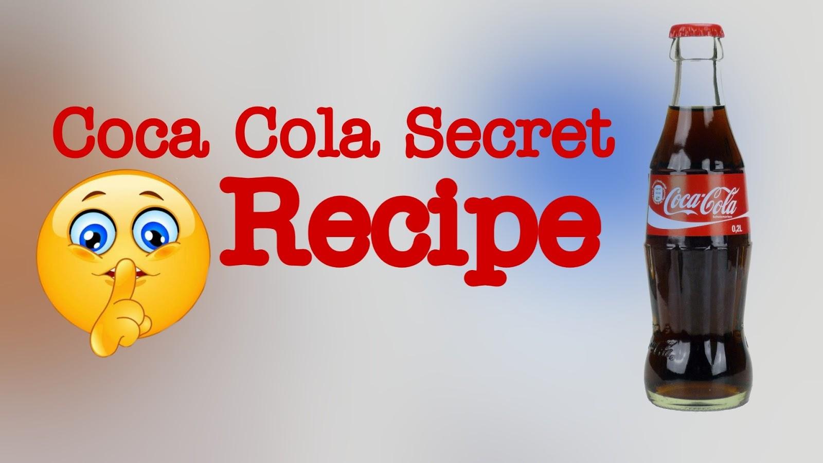 Coca cola original recipe