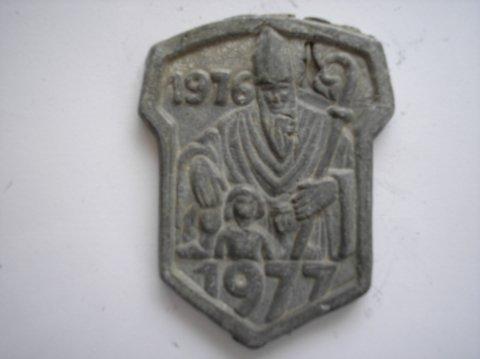 Naam: OnbekendPlaats: GroningenJaartal: 1976/1977Vindplaats: Aa-kerk GroningenBijz: Stadsheilige