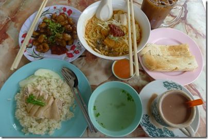 old school kopitiam breakfast