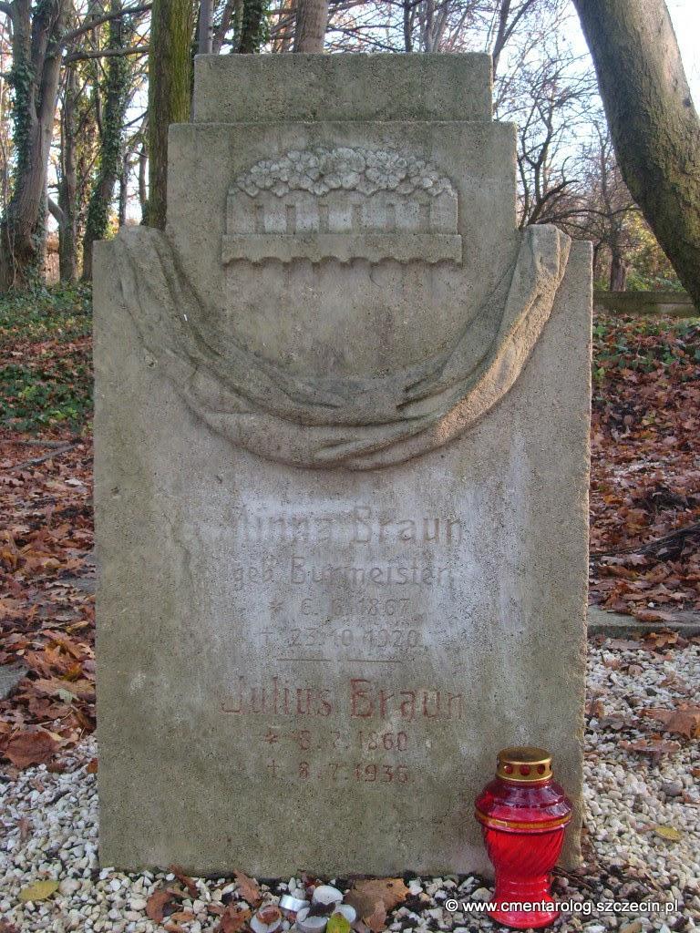 Nagrobek państwa Braun (Podjuchy, ul. Ostowa)