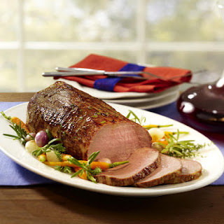 Roast Beef with Red Wine Gravy.