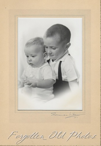 Two Little boys PR ant