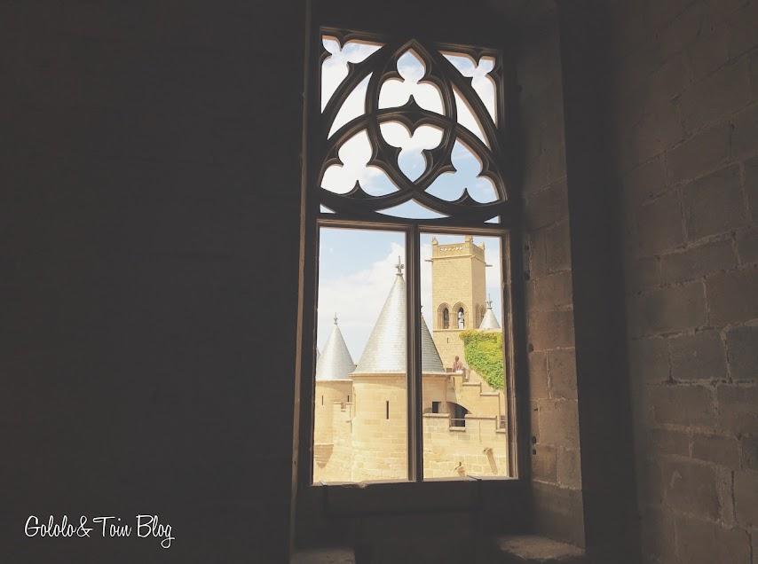Ventanas del Palacio Real de Olite