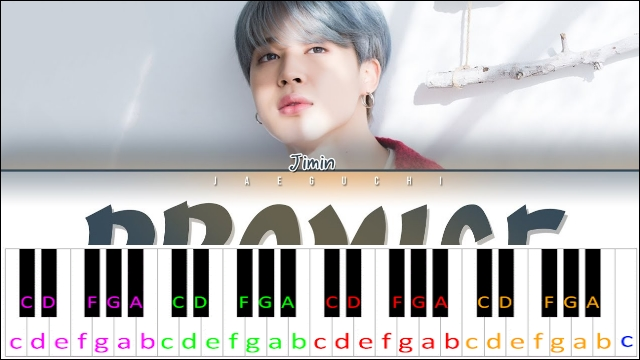 Promise by BTS JIMIN ~ Piano Letter Notes