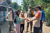 Warga di Pulau Seribu dapat 1.600 Masker dari Polres Kep Seribu