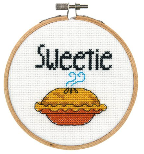 Sweetie Pie Cross Stitch