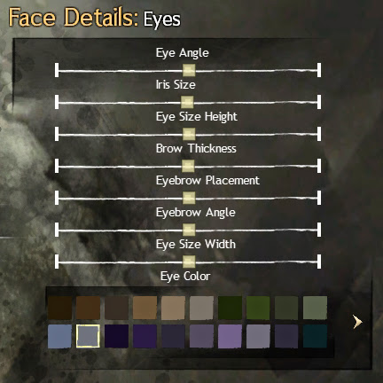 Guild Wars 2 Eyes