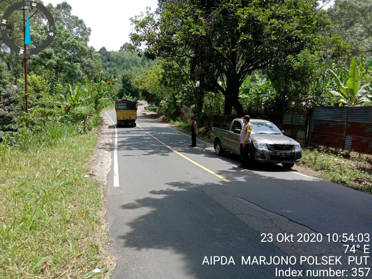 Patroli Polsek Pu Tanding Di Jalur Lintas Curup Padang Ulak Tanding
