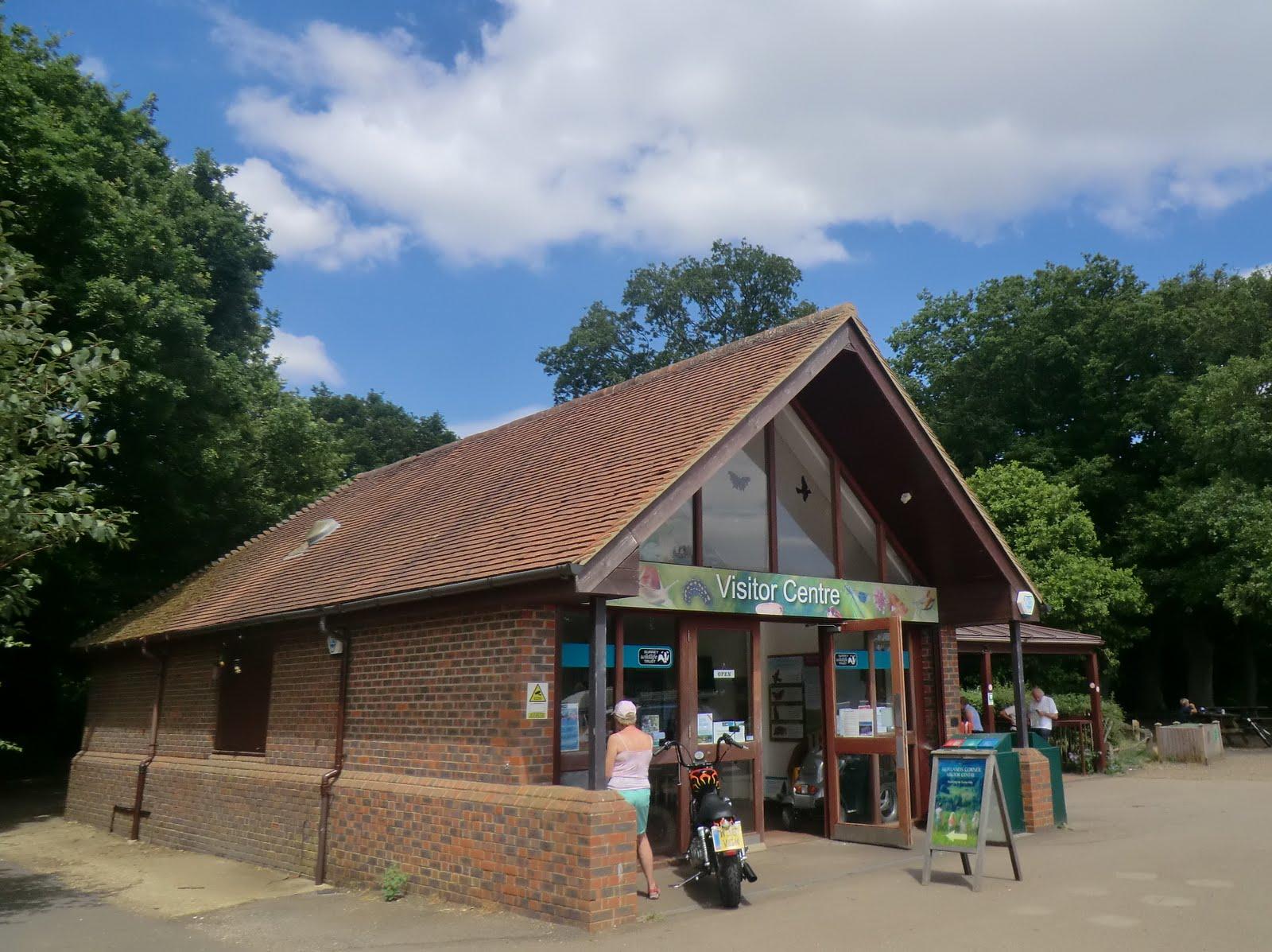 CIMG8334 Newlands Corner Visitor Centre