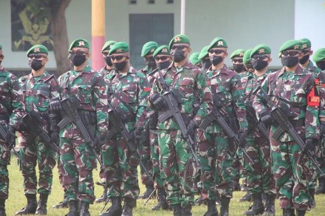 400 Prajurit Yonif 315/Garuda Diberangkatkan ke Papua, Danrem : Jaga Keamanan Papua