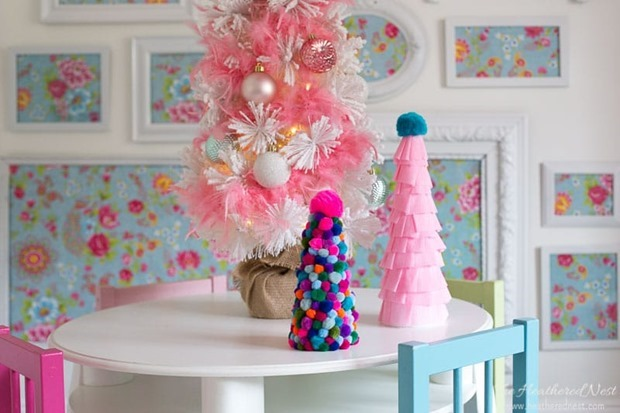 pom-pom-christmas-tree-craft-2