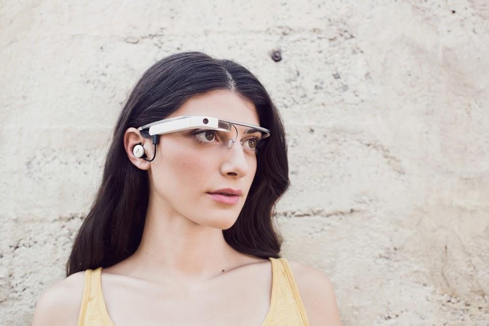 Google Glass 2.0 mit Earbud