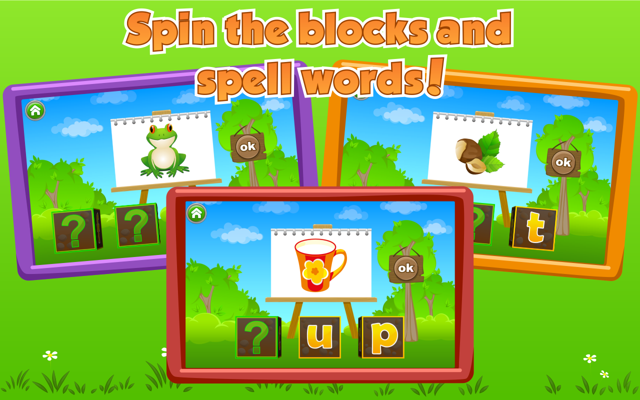 Kids Learn to Read (Lite)- screenshot