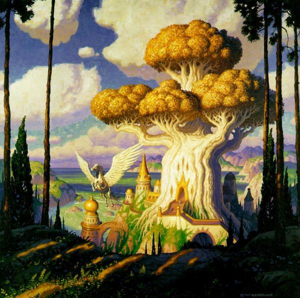 The Elven Fortress, Fantasy Scenes 1