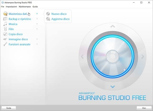 ashampoo-burning-studio-interfaccia