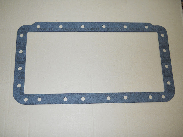 Dynaflow transmission pan gasket, fit all to the last ones in 1963.. 19.00 each