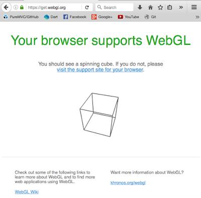google chrome webgl not working