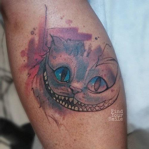 este_insolente_cheshire_aquarela_tatuagem