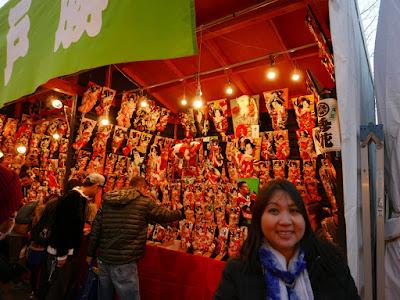 Hagoita Ichi at Sensoji Temple in Asakusa, takes place December 17-19 annually