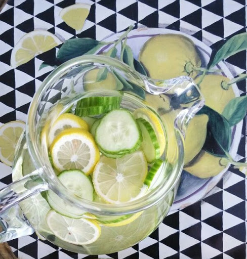 Drink diy: Homemade infused water for weight loss and skin rejuvention
