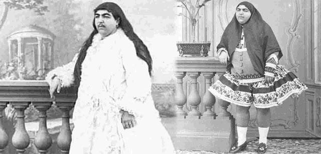 anis al doleh esposa del rey persa shah