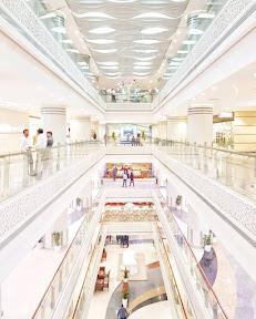 Inside the grand Giga Mall, Islamabad.