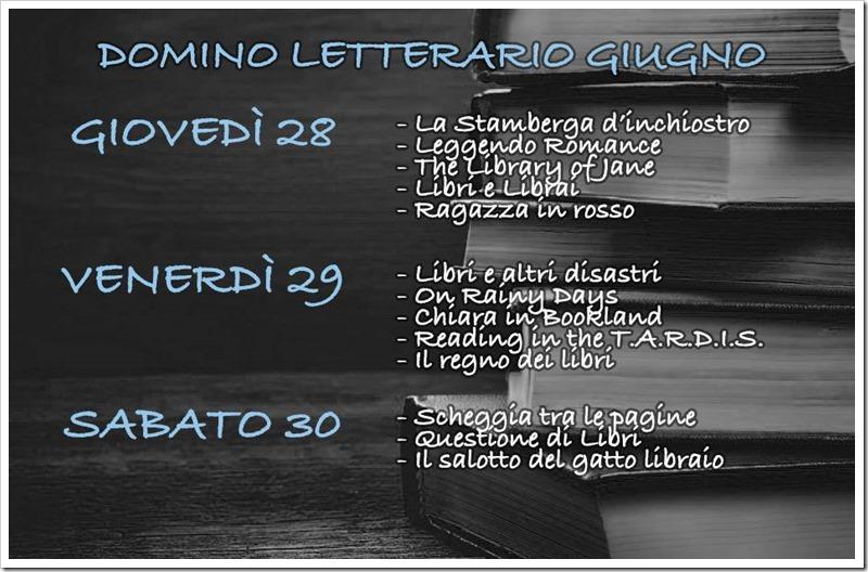 Domino letterario di giugno