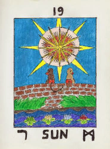 Mooning The Sun Tarot Blog Hop