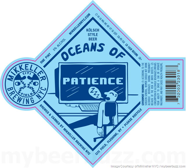 Mikkeller NYC Adding Oceans Of Patience & Chin Music Cans