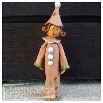 www.kleiner-kreativblog.de: Clownette - fertig!