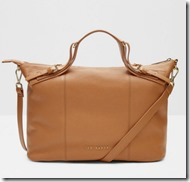 Ted Baker tan leather tote bag