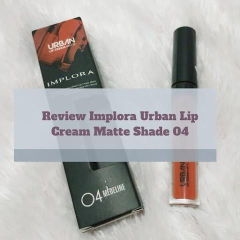 [Review] Implora Urban Lip Cream Matte Shade 04 Medeline