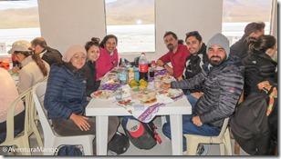 Grupo no Almoço - Laguna Hedionda