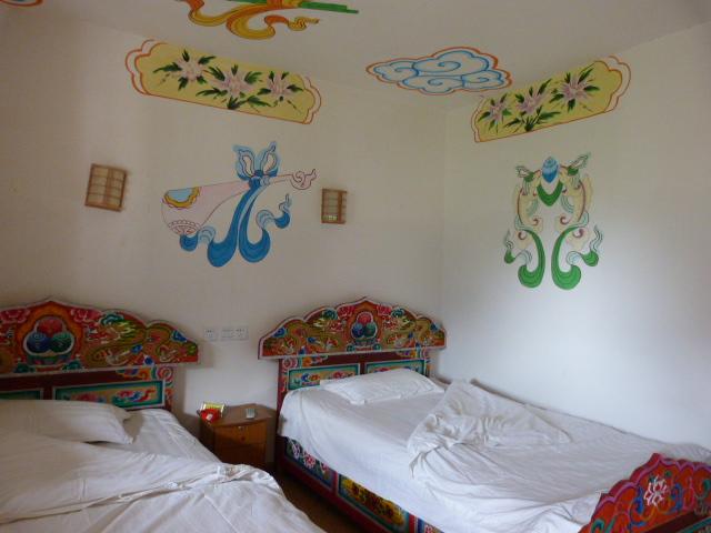 Retour à JIAJU ZHANGZHAI.seul hôtel, pour voir à quoi cela ressemble