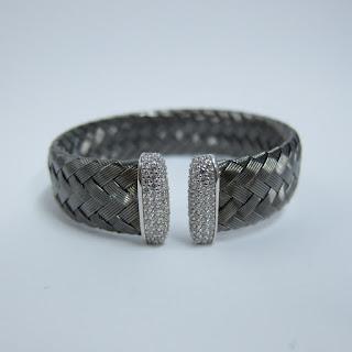 Sterling Silver Braided Cuff