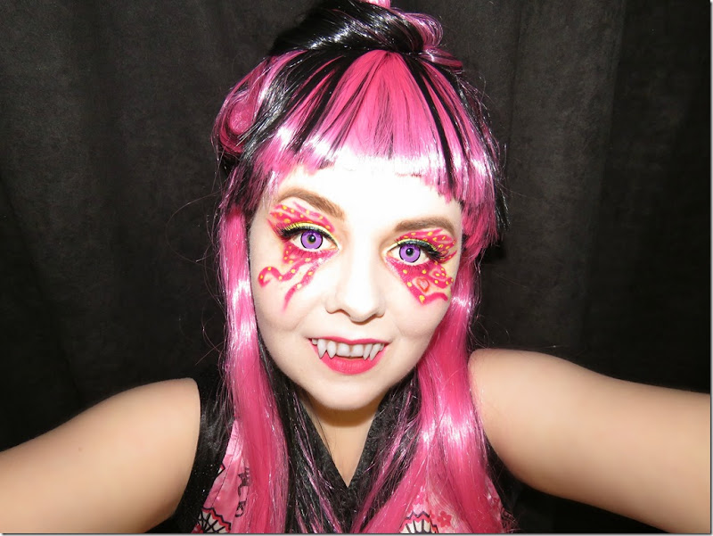 Draculaura Great Scarrier Reef Full Face Look