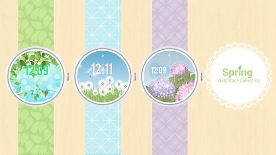 Spring Collection Watch Face- screenshot thumbnail