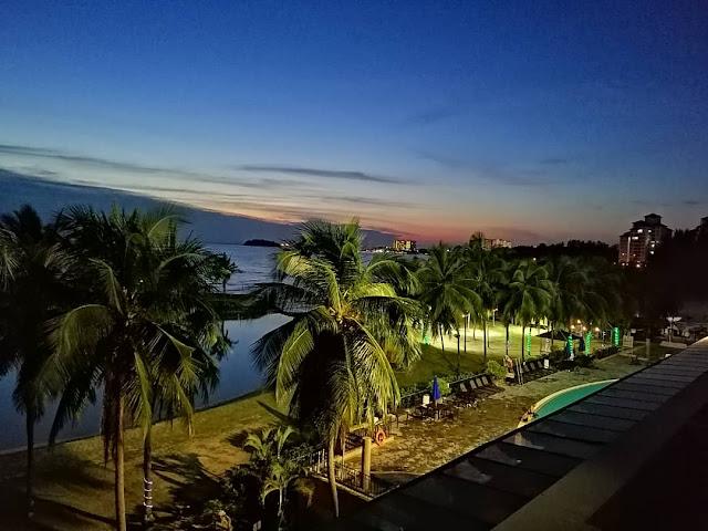 Pengalaman di Corus Paradise Port Dickson, Negeri Sembilan.