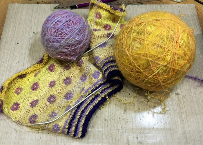04 Back - Knitting in Progress