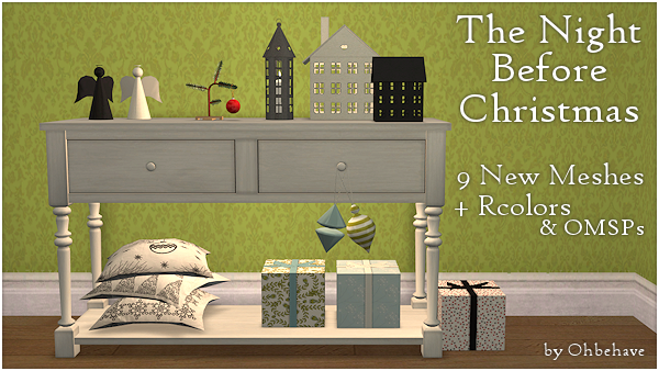 The night before Christmas - New Mesh-Set by Ohbehave TheNightBeforeChristmas1