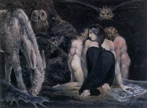 Hecate Or The Three Fates By William Blake, William Blake