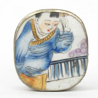 Chinese Porcelain Shard Trinket Box