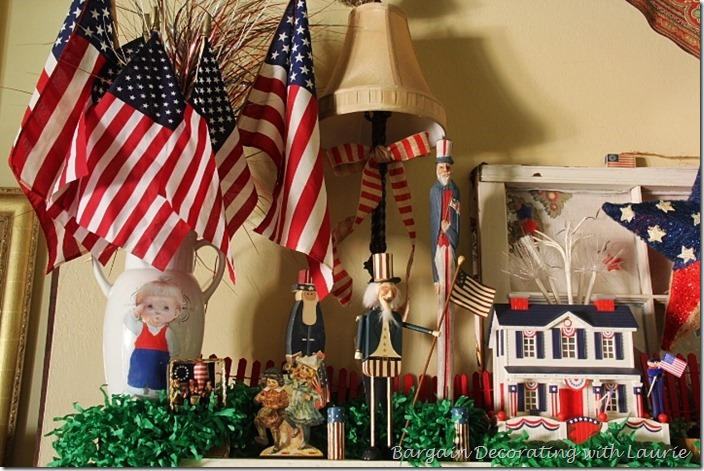 Uncle Sam Figures for 4th of July Decor