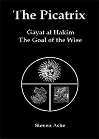 Cover of Steven Ashe's Book The Picatrix The Goal of the Wise Planetary Talismanic Magic